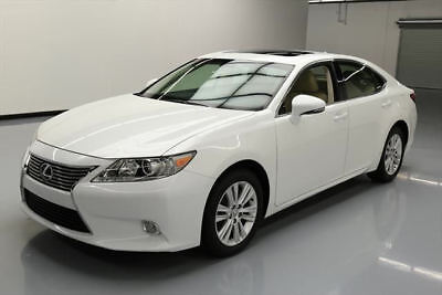 2013 Lexus ES 350 Base Sedan 4-Door 2013 LEXUS ES350 SEDAN SUNROOF BLUETOOTH ALLOYS 29K MI #014409 Texas Direct Auto