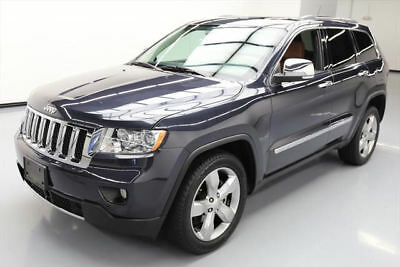 2013 Jeep Grand Cherokee Overland Sport Utility 4-Door 2013 JEEP GRAND CHEROKEE OVERLAND PANO ROOF NAV 44K MI #534198 Texas Direct Auto