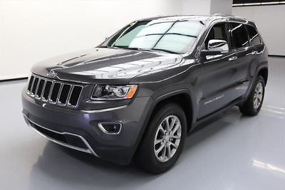 2016 Jeep Grand Cherokee  2016 JEEP GRAND CHEROKEE LIMITED HTD SEATS REAR CAM 34K #321989 Texas Direct