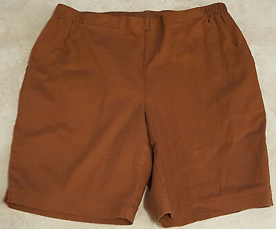 Womens Just My Size Pull On Cotton Shorts: 1X-2X-3X-4X