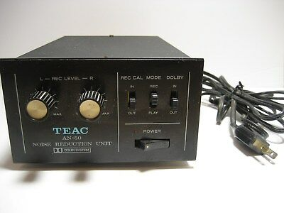 TEAC AN-50 Noise reduction Unit Untested
