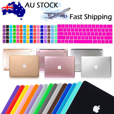 "2016 Matte Case Shell Keyboard cover Fr Macbook Pro 13"" 15"" A1706 A1708 A1707 AU"