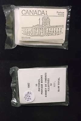 1505 Canada Stamp Booklet #82a Complete Set of 10 Booklet in Sealed Package Rare