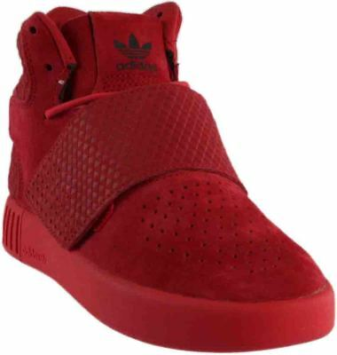 adidas Tubular Invader Triple Red Red - Mens  - Size