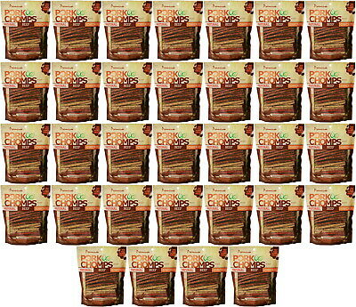 Premium Pork Chomps Munchy Sticks Natural, Beef & Chicken 1600ct (32x50ct)