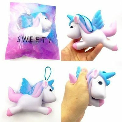 Cute Unicorn Squishy Squeeze Relieve Stress Slow Rising Kids Toy Decor Gift
