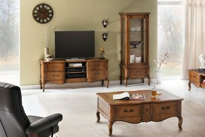 wohnwand birke massiv eur 110 99 picclick de. Black Bedroom Furniture Sets. Home Design Ideas