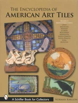 Vintage Arts & Crafts Pottery Tiles - Massive Collectors Guide R3 Midwest States