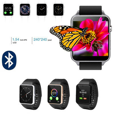 GT08 Bluetooth Reloj Inteligente para HTC Samsung iPhone IOS Cámara SIM Ranura
