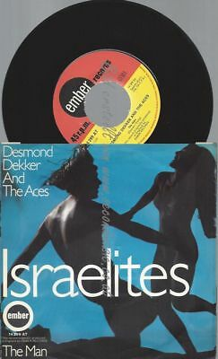 "7""  Desmond Dekker And The Aces ‎– Israelites"