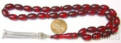 Prayer Worry Beads Komboloy Vintage Bordeaux Misketa 1950 New Old Stock V. Rare