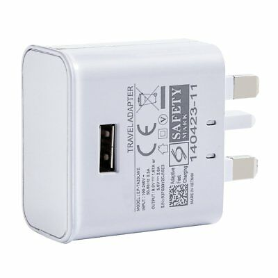 USB Wall Charger 3PIN UK Plug Mains AC Power 5V 2A Adaptor for All Phones iPhone