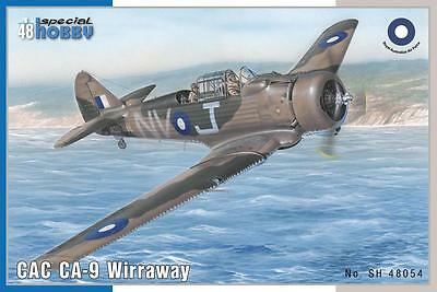 SPECIAL HOBBY 48054 CAC CA-9 Wirraway in 1:48