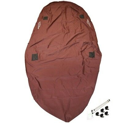 Tahoe Boat Travel Mooring Cover 173170 | Q7 Black Cherry Red