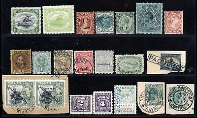 British Commonwealth Used Stamps With Better Items Included.   A801