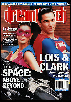Dreamwatch (1994) #20 Lois & Clark Cover Superman Space: Above And Beyond NM