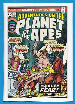Adventures On The Planet Of The Apes #4_Feb 1976_Near Mint Minus_Bronze Age!