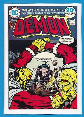 """The Demon #15_December 1973_Vf/nm_""""the One Who Vanished""""_Bronze Age_Jack Kirby!"""