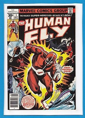 The Human Fly #1_September 1977_Very Fine+_First Fantastic Issue_Bronze Age!