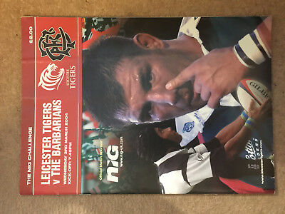 Leicester Tigers v The Barbarians 3/3/04