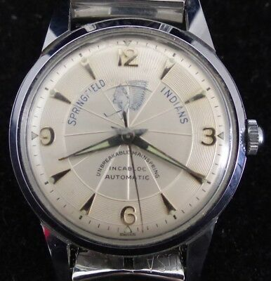 1960 Springfield Indians N. Price Watch