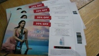 Ghost Dream 4X 20% Off Coupons For The Perfume Shop Must L@@k!!