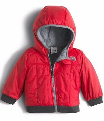 The North Face Infant Boys Yukon Reversible Jacket TNF Red 12-18 Month NWT