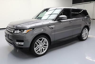 2014 Land Rover Range Rover Sport HSE Sport Utility 4-Door 2014 LAND ROVER RANGE ROVER SPORT HSE 4X4 PANO NAV 22'S #312997 Texas Direct