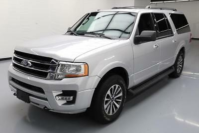 2016 Ford Expedition  2016 FORD EXPEDITION EL ECOBOOST 4X4 7PASS REAR CAM 37K #F46214 Texas Direct