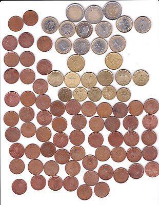 lot ciculated EURO     in common coin
