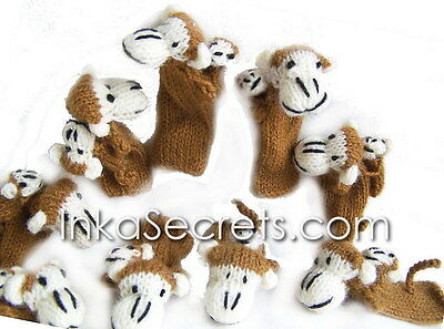 250 Finger Puppets / Monkey with baby