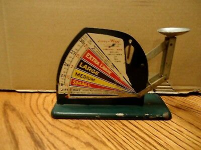 Vintage Jiffy Way Egg Scale