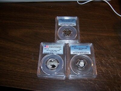 (Lot Of 3) Pr70Dcam Assorted-Build Your Own Registry Set-Clean-Pcgs Guide $108