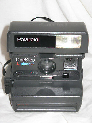 Polaroid One Step Closeup Clean Camera Tested and Working
