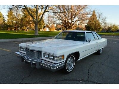 1975 Cadillac DeVille D'Elegance BEAUTIFUL TWO OWNER 96K ACTUAL MILE 1975 CADILLAC COUPE DEVILLE D'ELEGANCE