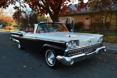 1959 Ford Galaxie  BEAUTIFUL 1 FAMILY OWNED 1959 FORD GALAXIE SKYLINER RETRACTABLE CONVERTIBLE