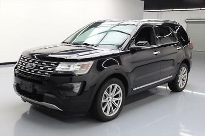 2016 Ford Explorer Limited Sport Utility 4-Door 2016 FORD EXPLORER LIMITED AWD 7PASS LEATHER NAV 42K MI #B66297 Texas Direct