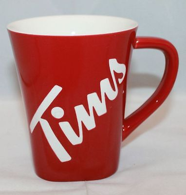 Tim Horton's Tim's Etched Brand New Limited Edition 2013 Unused Mug