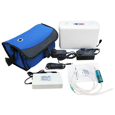 Portable Oxygen Concentrator Machine Oxygen Generator 3L/m 32W Medical Home Use
