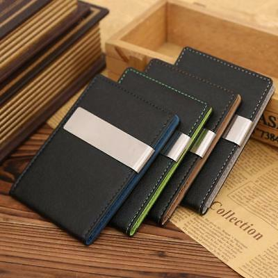 Wallet Money Clip Mens Womens PU Leather Credit Card Holder Ultra Slim Wallet LG
