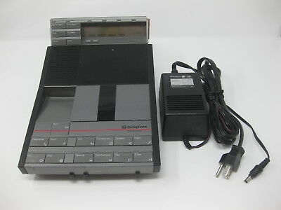 Dictaphone 3730 Micro Cassette Transcriber w/ Power Cable