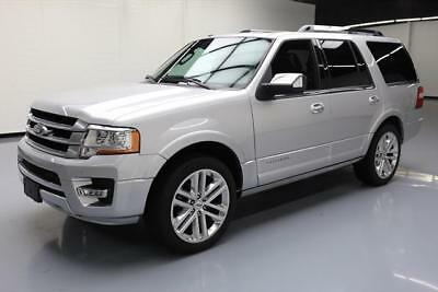 2015 Ford Expedition Platinum Sport Utility 4-Door 2015 FORD EXPEDITION PLATINUM ECOBOOST NAV DVD 22'S 26K #F47236 Texas Direct