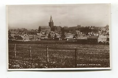Orkney - Kirkwall from South West - old real photo postcard