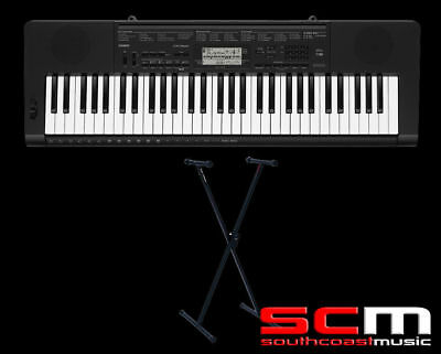 Casio Ctk3500 Electronic Keyboard, Adaptor & Stand 5Yr Warranty Replaces Ctk3200