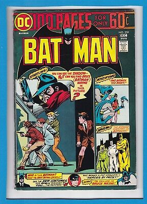 Batman #259_December 1974_Very Fine Minus_Robin_Bronze Age Dc 100 Page Giant!