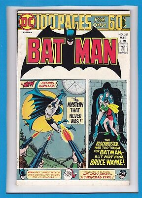 Batman #261_March 1975_Fine/very Fine_Robin_Bronze Age Dc 100 Page Giant!