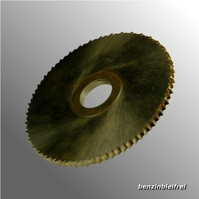 Side and Face Cutter 80mm Metal Saw Blade Circular round Milling Machine HSS