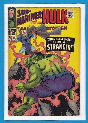 Tales To Astonish #89_March 1967_Fine+_Incredible Hulk_Sub-Mariner_Silver Age!