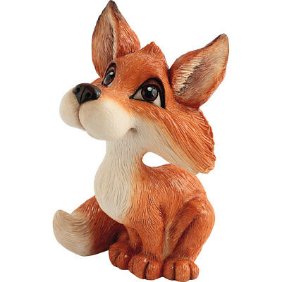 """Little Paws """"Felicity"""" Fox Figurine 5"""" High New In Box! Made In UK"""