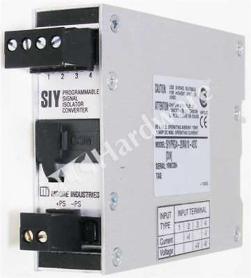 Moore Industries SIY/PRG/4-20MA/10-42DC Programmable Signal Isolator/Converter